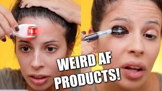 Testing Weird Beauty Products 2017