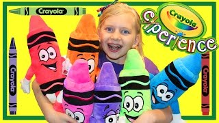 Crayola Experience Orlando || HUGE INDOOR PLAY CENTER