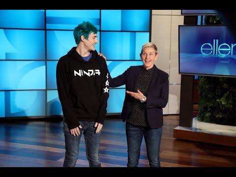 Extended Cut: Ellen and Tyler 'Ninja' Blevins Play 'Fortnite'