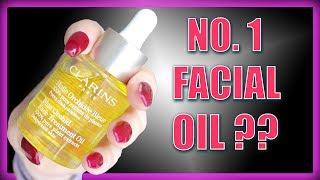 Clarins Orchid Blue Face Treatment Oil (2018) | Claire Tutorials