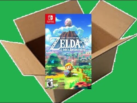 The Legend of Zelda: Link's Awakening [Switch] (Unboxing/Breakdown/Demo)