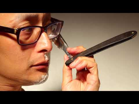 How To Use a Straight Razor, SOTD Jaques Lecoultre Au Sentier 7/8' Frameback