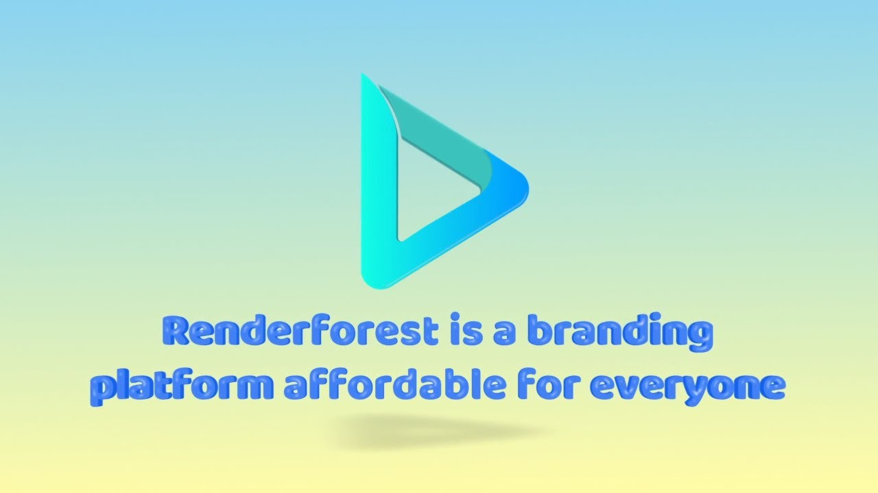 Renderforest Tutorial | Getting Started With Renderforest
