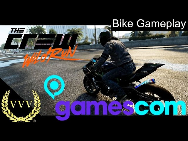 The Crew Wild Run Bike Gameplay