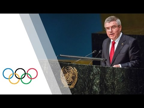 UN General Assembly approves Olympic Truce for Olympic Games Rio de Janeiro 2016