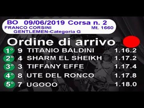 2019 06 09   Corsa 2   Metri 1660   Premio Franco Corsini