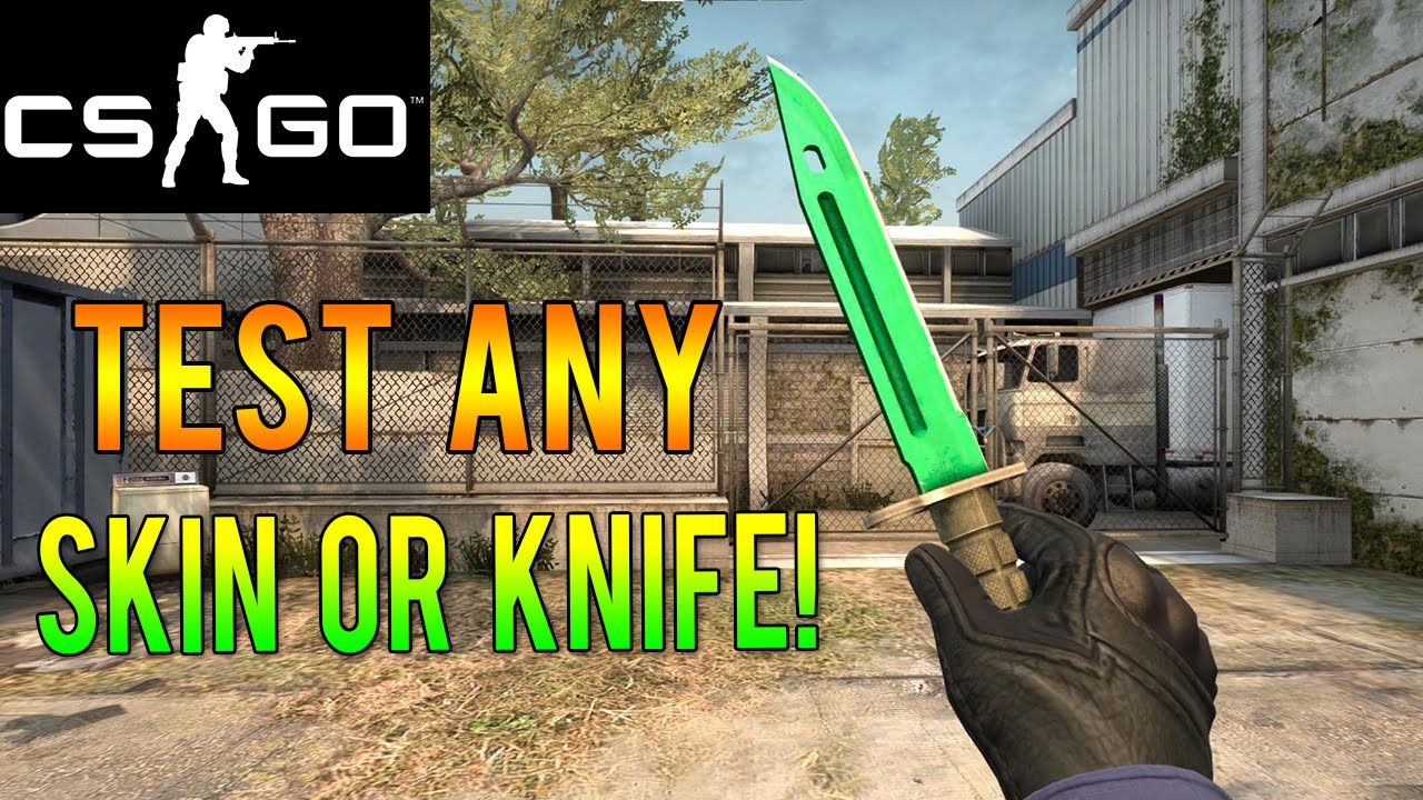 Cs Go How To Test Out Any Rare Skin Or Knife For Free Youtube