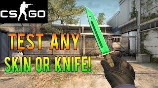 CS GO - How to Test Out Any Rare Skin or Knife for Free!