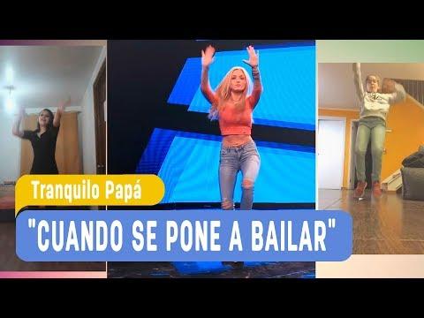"""Rombai / Los Actores De """"Tranquilo Papá""""  Y Ustedes Bailando """"Cuando Se Pone A Bailar"""""""