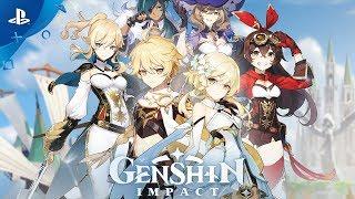 Genshin Impact   Gameplay Trailer   PS4