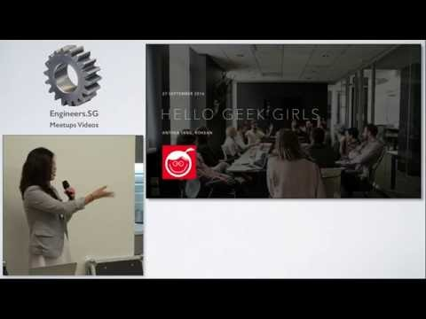 Anthea Tang - Singapore Geek Girls