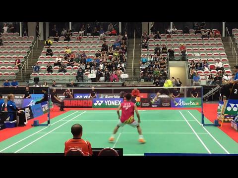 Lee Chong Wei vs Shi Yuqi Nice Camera Angle Highlights