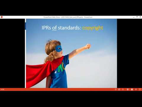 CEN and CENELEC 10-10 webinar: Standards and IPR