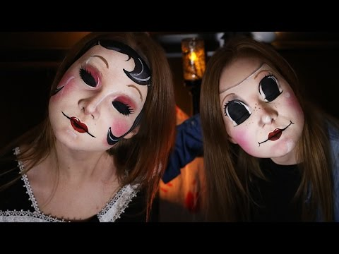 "The Strangers ""Masks"" DONE IN MAKEUP! 