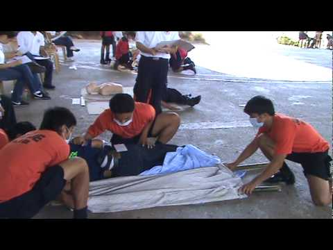 Barangay First Aid Competition Davao City