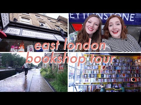 East London Independent Bookshop Tour | My Favourites! w/ Lucy | Booksandquills
