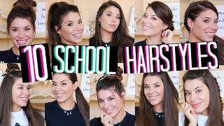 10 BACK TO SCHOOL HAIRSTYLES 2019 | Adriana Spink