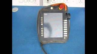 kuka an 00 168 334 robot teach pendant repairs advanced micro services pvt ltd bangalore india