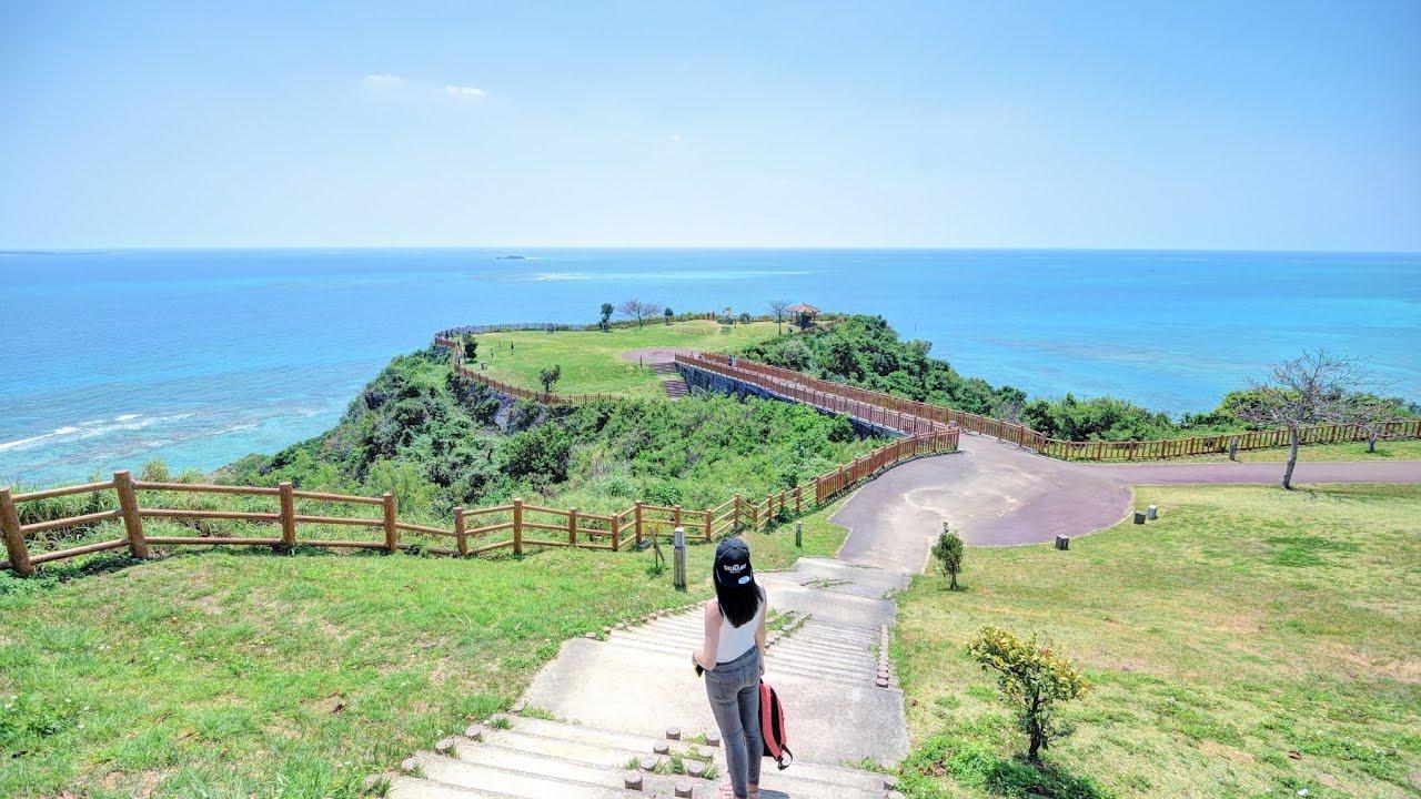 沖繩 Okinawa l 知念岬公園 & Niraikanai 橋 - YouTube