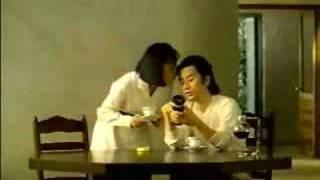 田村正和多年前的一個廣告,拍擋是京野琴美.
