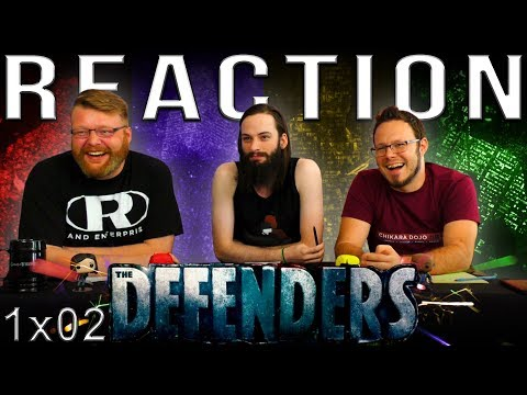 """Marvel's The Defenders 1x2 REACTION!! """"Mean Right Hook"""""""