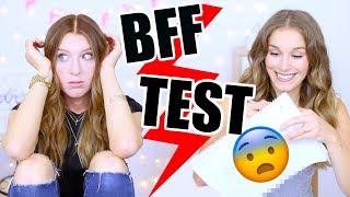 Laura und ich machen den ultimativen BFF Test❌ZUM MITMACHEN! BarbaraSofie