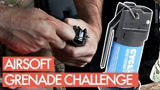 Airsoft Grenade Only Challenge with Jet Desertfox