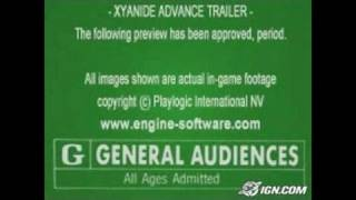 Xyanide Advance Game Boy Gameplay