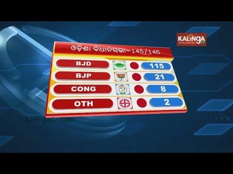 BJD Leads in Kendrapara  & Kandhamal Lok Sabha constituency  Kalinga TV