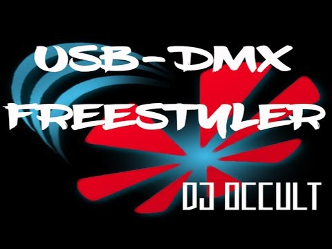 USB to DMX for cheap! how to use freestyler