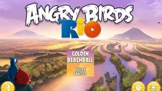 Angry Birds: Rio. Golden Beachball (level 17) 3 stars. Прохождение от SAFa