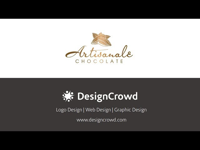 Classy logo design for premium confectionery brand Artisanale Chocolate by DesignCrowd