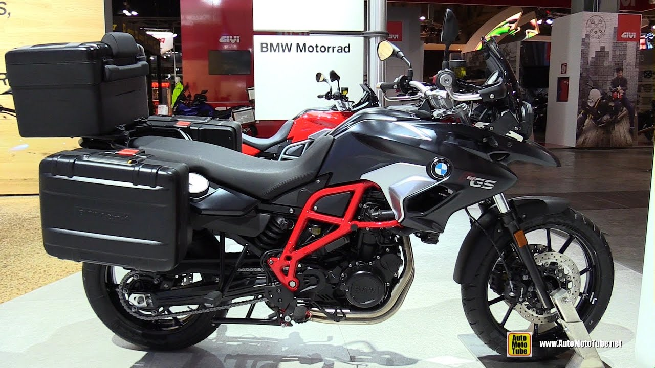 2017 Bmw F700 Gs Walkaround 2016 Eicma Milan Youtube