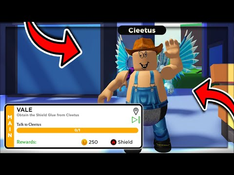How To Find *CLEETUS* In Roblox POWER SIMULATOR 2! Obtain The Shield Glue From Cleetus Quest
