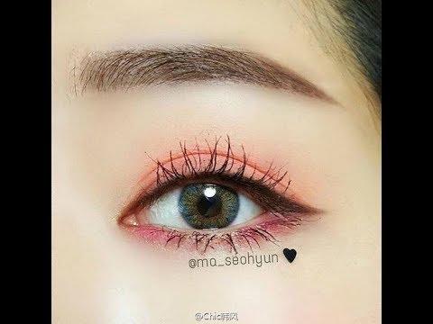 Hướng Dẫn Kẻ Lông Mày Ngang Hàn Quốc Cực Dễ- Nhanh- Đẹpl Easy Eyebrow Tutorial- Very Lovely [Part2]