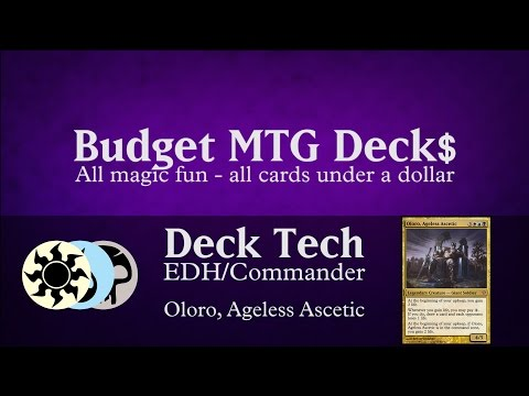 Budget Oloro, Ageless Ascetic - EDH / Commander - PILLOW FORT