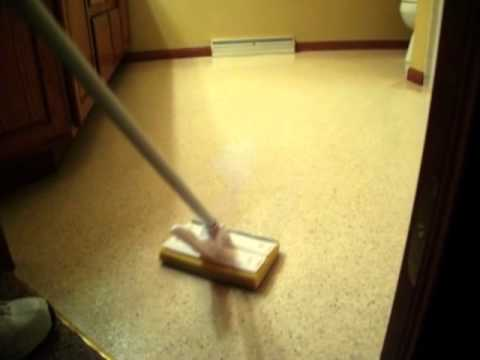 Cleaning Vinyl Floors Why Your Vinyl No Longer Shines YouTube - How to clean marley floor