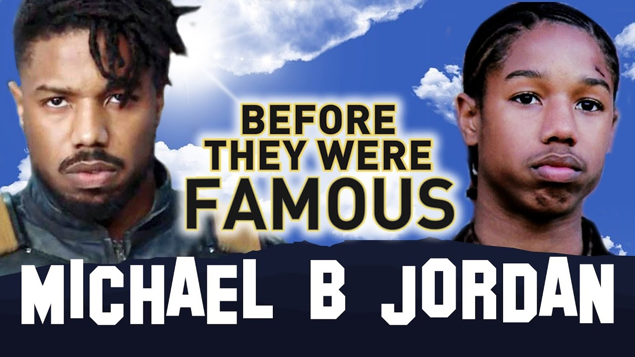 MICHAEL B JORDAN   Before They Were Famous   BLACK PANTHER #1