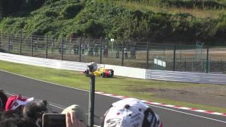 2010F1日本GP 決勝クビサのタイヤが