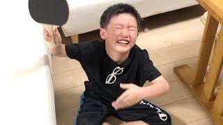 ピンポン球をキャッチするのに顔をビンタしてしまって泣くココロ!【ココロマン普段の様子】 thumbnail