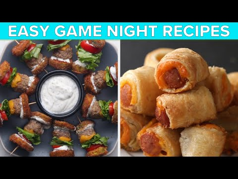 Easy Recipes For Game Night • Tasty Recipes
