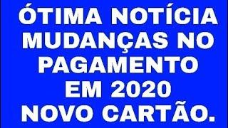 (INSS) APOSENTADOS E BENEFICIÁRIOS TERÁ MUDANÇA NO PAGAMENTO EM 2020 🤑💰