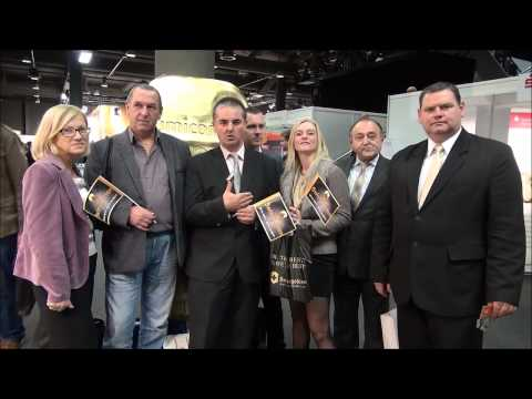 Exhibition of precious metals   Partners from Poland to build a serious business in Swissgolden
