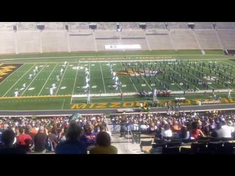 Troy Buchanan High School Mizzou Band Day 2013