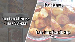 Ninja Foodi UK Recipes  Roast Potatoes