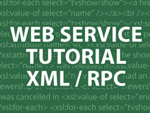 Web Services Tutorial 2 Remote Procedure Call Tutorial