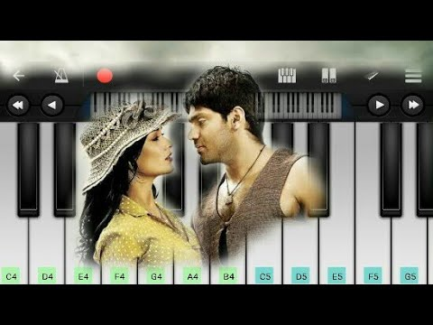 Feel Of Love bgm | Madraspattianam | Tamil Movie | Mobile Piano