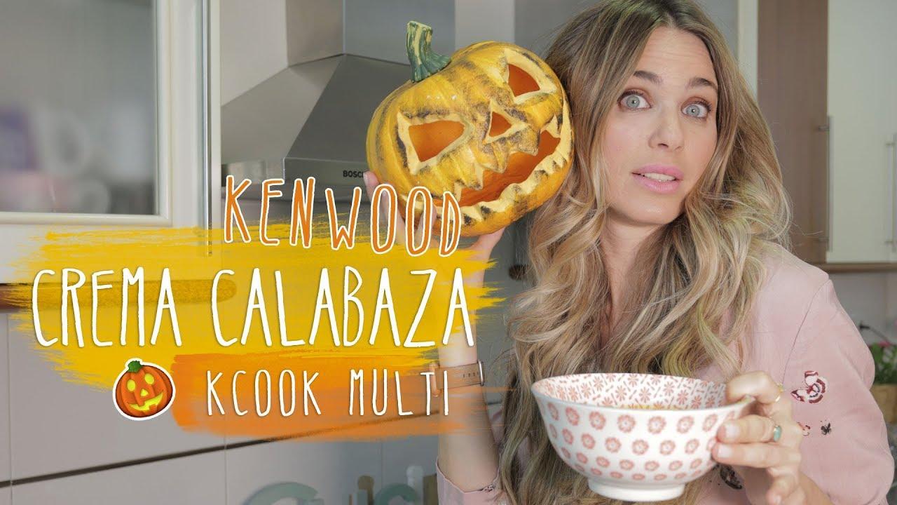 Receta Crema De Calabaza Con Kcook Multi De Kenwood Vanesa Romero Tv