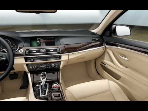 2010 2011 Bmw 5 Series F10 Interior Video Youtube