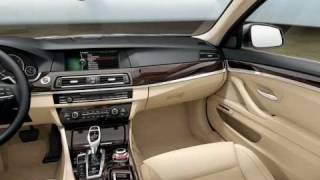 2010 2011 BMW 5-Series F10 Interior Video
